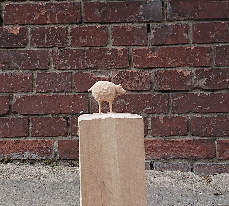 Schaf (inspiriert durch Selma von Jutta Bauer)